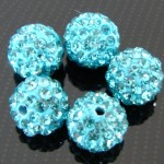 aquamarine strass balletjes