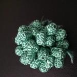 knoopjes mintgroen