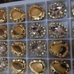 strass steentjes goud