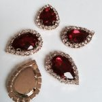 Bordeau rode steentjes