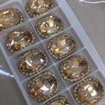 gouden steentjes luxe