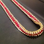 luxe strass rood