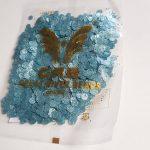 Pailetten grijsblauw