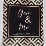 Islamitische wenskaart You & Me