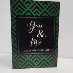 Islamitische wenskaart You & Me groen