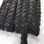 Kralenband zwart