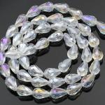 Crystal-Multicolor druppelvorm 6 mm