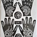 Henna stickers 2 paar handen