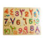 Arabische cijfers puzzel