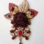 3D bloem applicatie rood