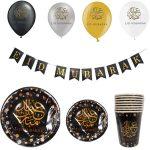 Eid feestpakket zwart/goud