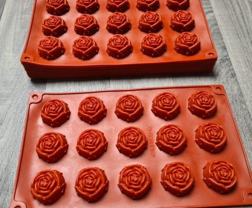 Silliconen bakvormen / bonbon vormen (verschillende vormen)
